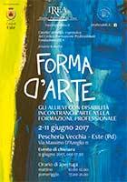 Mostra D'Arte, giugno 2017 - Volantino