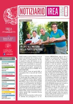 Notiziario n. 34, gennaio/dicembre 2017 - Fondazione IREA