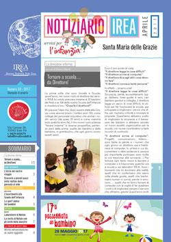 Notiziario Infanzia n. 33, aprile 2017 - Fondazione IREA