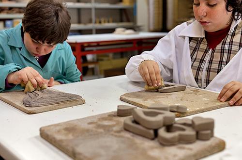 disabilità laboratorio di ceramica