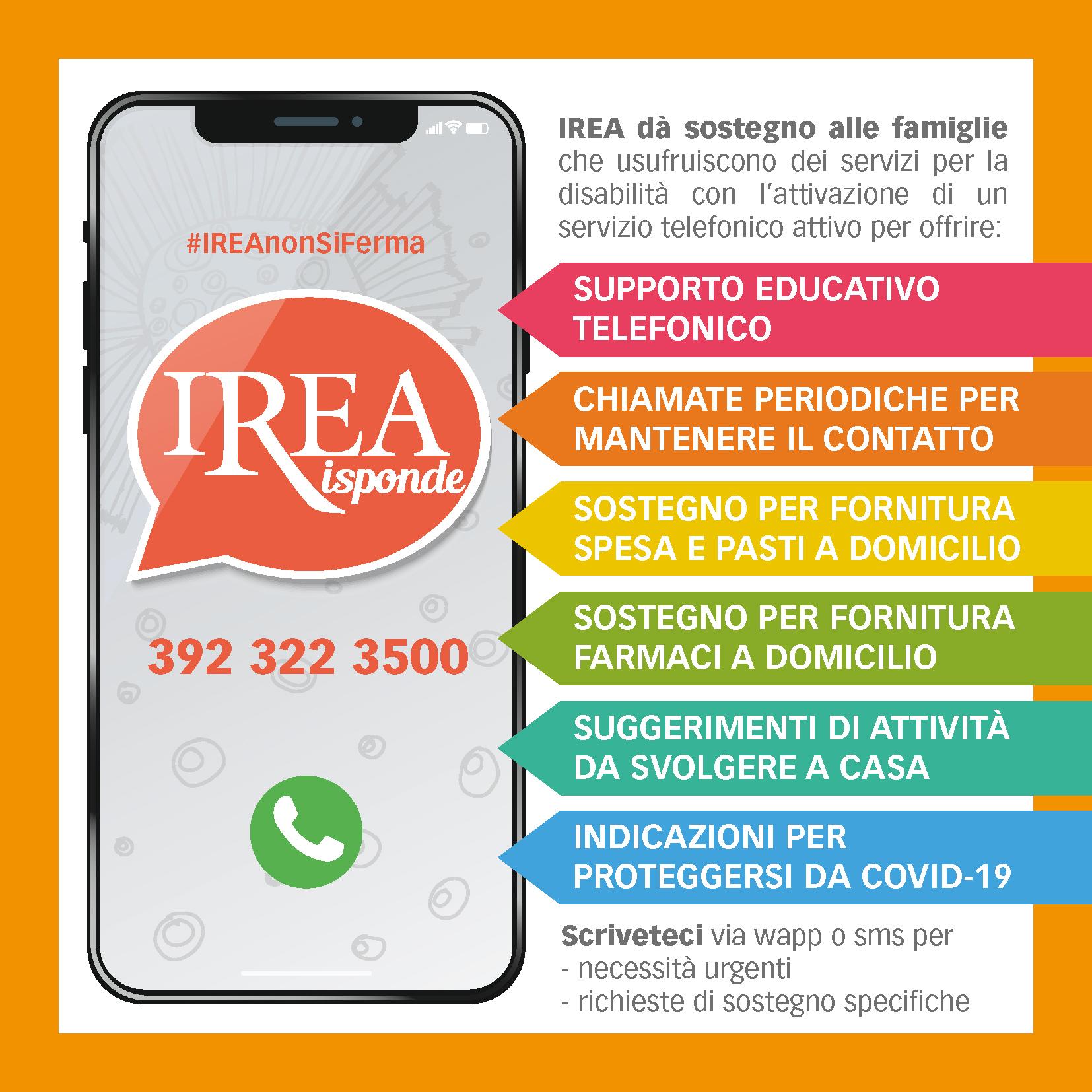 IREA Risponde numero utile