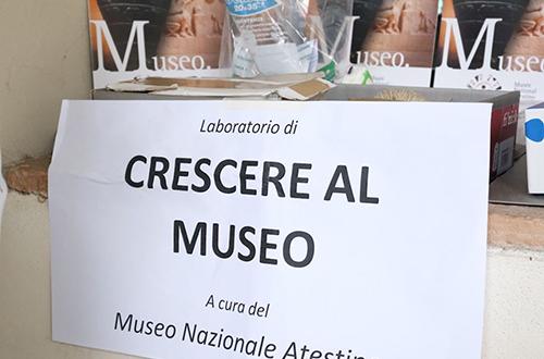 4h progetto - crescere al museo a cura del museo nazionale atestino
