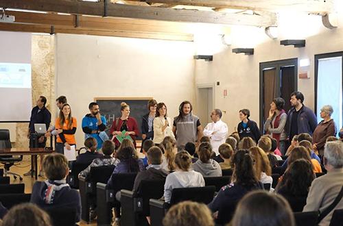 progetto 4h -incontro con i ragazzi per la presentazione dei laboratori