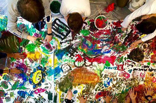 4h progetto - adolescenti che si approcciano al mondo dell'arte