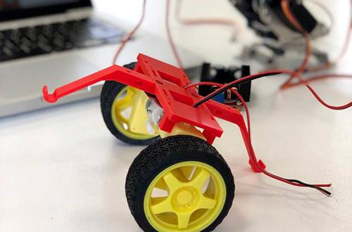progetto 4h - robottino realizzato dal laboratorio di robotica