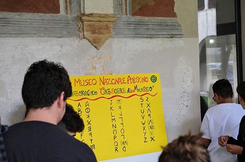 4h progetto - laboratorio crescere al museo a cura del museo nazionale atestino