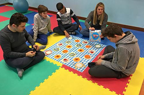 scuola di formazione giochi di gruppo