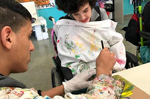 scuola di formazione collaborazione tra ragazzi disabili