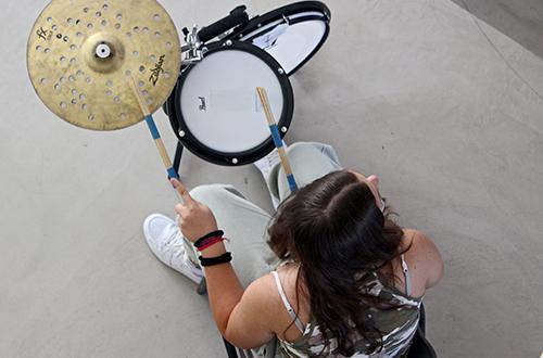 progetto 4h laboratorio drum circle