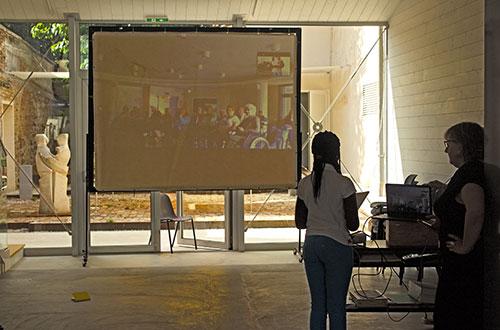 laboratorio teatro videochiamata con casa di riposo