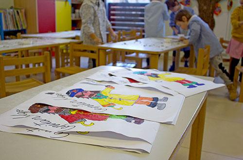 scuola infanzia s.m. grazie giochi attività disegno