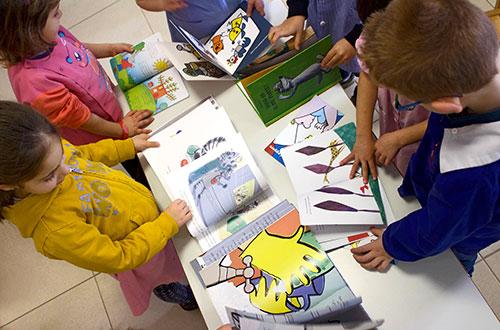 scuola infanzia s.m. grazie giochi attività libri