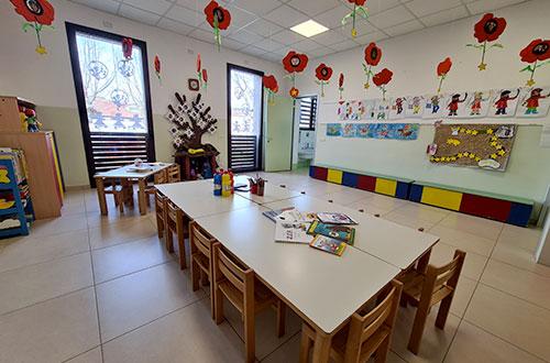 scuola infanzia s.m. grazie aula