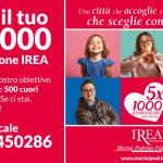 dono il tuo 5 per mille a Fondazione IREA