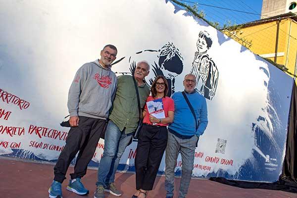 inaugurazione 1 ottobre non sono un murales